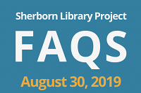 Sherborn Library Construction Project Update August 2019 thumbnail Photo
