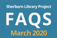 Sherborn Library Construction Project Update March 2020 thumbnail Photo