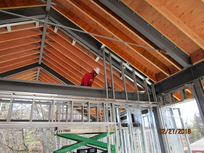 Sherborn Library Construction Update Banner Photo