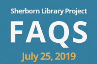 Sherborn Library Construction Project Update July 2019 thumbnail Photo