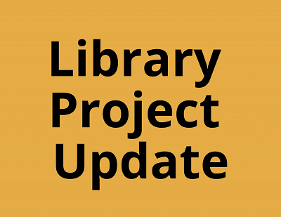 Sherborn Library Construction Project Update June 2020 Banner Photo