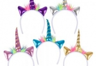 Metallic Unicorn Headbands